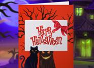 игра открытка на хэллоуин