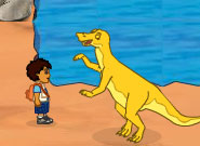 Диего спасает динозавров